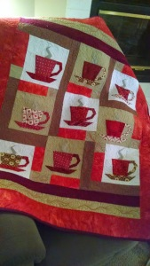 Paper Pieced Coffee Quilt