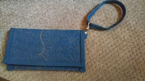 finished wallet