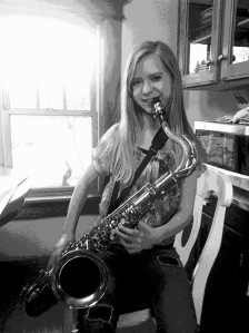 Izzy on the Sax copy