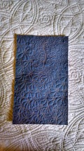 Wallet quilting